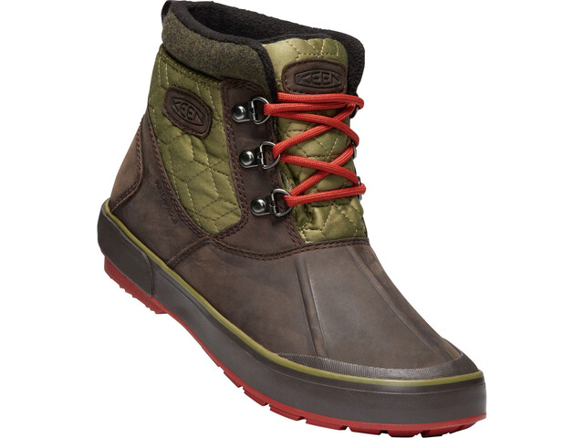 Keen W's Elsa II Anklequil WP Shoes mulch/martini o
